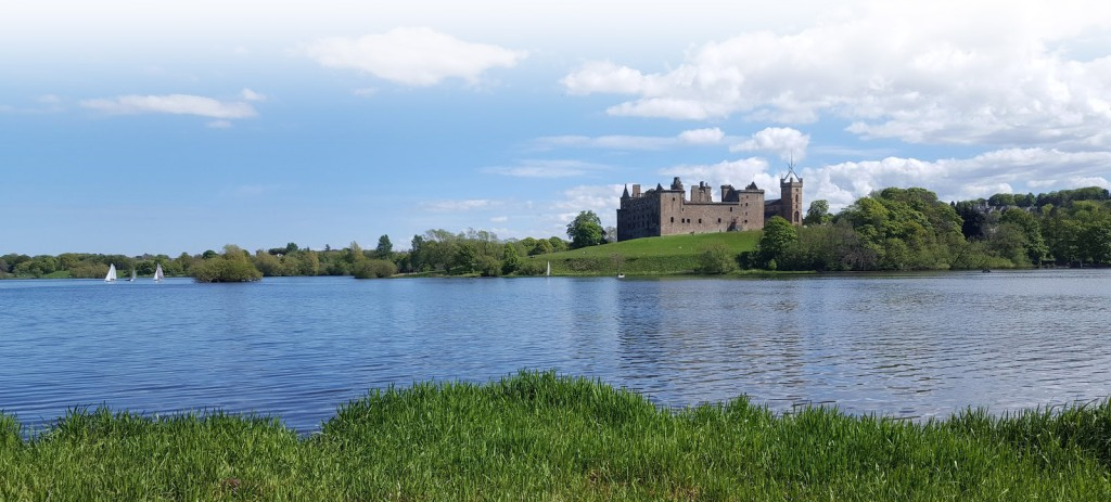 Historic Linlithgow Palace, the birthplace of Mary, Queen of Scots, is a short drive or walk from Bo'mains Farm.